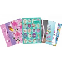 BOOK COVERS SCRAPBOOK SPENCIL BCSG- GIRL